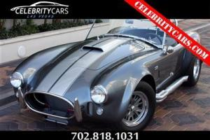 "1965 Superformance MKIII S/C ""Shelby AC Cobra"" 10 ANNIV DIAMOND EDITION 427 5spd"