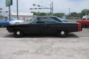 1967 Dodge Coronet black/black,red stripe,383 Magnum,727 automatic,clean mopar Photo