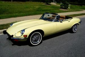 STUNNING ORIGINAL 1973 Jaguar E Type V12 Roadster