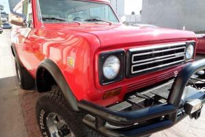 RARE 1979 INTERNATIONAL HARVESTER SCOUT II 4X4, AMAZING RETROMOD!