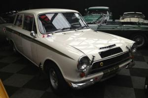 LOTUS CORTINA 1964 HISTORIC RALLY CAR GENUINE