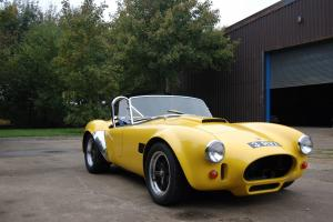 1988 AC Cobra MkIV 289 Road Legal Race Car Track day Gurney Weslake