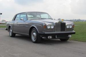 1977 R ROLLS-ROYCE CORNICHE 6.8 FIXED HEAD COUPE 2DR