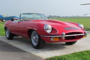 1970 H JAGUAR E-TYPE 4.2 ROADSTER SERIES 2 2DR