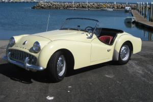 1958 TR3A  family owned for 55 years!! Dry weather car -  Runs and Drives Great