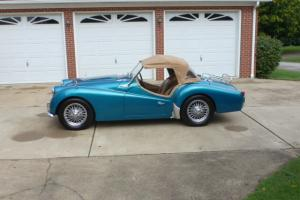 1959 Triumph TR-3 2-seat British Roadster Photo