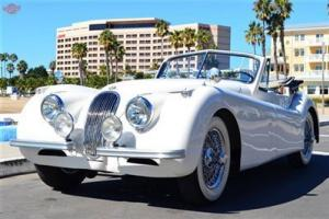 1953 Jaguar XK 120 SE DHC, restored, matching numbers