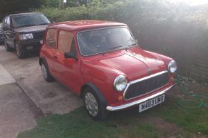 1995 ROVER MINI SPRITE RED 1275cc  Photo