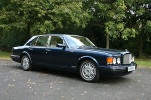 1996 BENTLEY BROOKLANDS AUTO BLUE