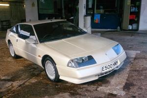 1987E RENAULT GTA V6 PEARL WHITE IN DRY STORAGE FOR LAST 15 YEARS