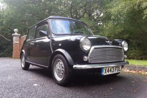 2000 Rover Mini Seven Black, H/Leather, Electric Webasto Roof, MOT/Tax Poss P/X