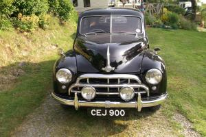 1954 Morris Oxford MO in black