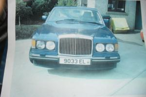 1990 BENTLEY mulsanne blue  Photo