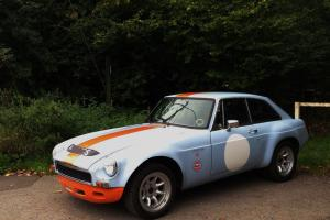 MGB GT SEBRING STUNNING CAR in PERIOD GULF RACE COLOURS MOT 2014 SUPERB EXAMPLE  Photo