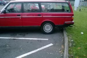 1992 VOLVO 240 SE RED - 1 owner, in great original condition, MOT, Spare keys