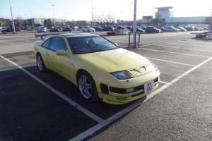 1991 NISSAN 300 ZX TURBO AUTO YELLOW
