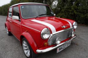 1994 ROVER MINI COOPER 1.3I SUPER CAR OUTSTANDING CONDITION RED / WHITE STRIPES  Photo