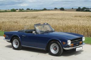 1975 N - Triumph TR6 - CR Chassis UK Car