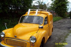 Fully restored gpo van yellow original