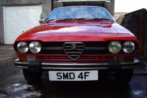 1979 Alfa Romeo Alfetta GTV - TIME WARP CONDITION only 15,853 miles