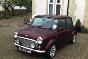 1999 Classic MINI 40 LE Mulberry RED in brilliant condition