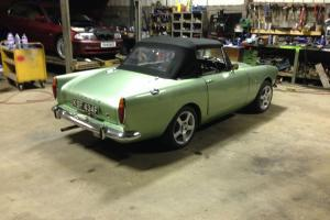 SUNBEAM ALPINE GREEN 1967