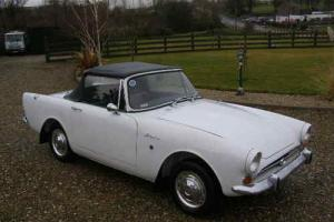 1965 SUNBEAM ALPINE ROADSTER TAX FREE