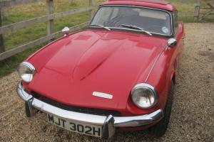 TRIUMPH GT6 2LITRE, SIGNAL RED 1970 TAX EXEMPT OVERDRIVE