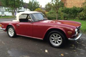 1971 Triumph TR6 2.5 injection. 150BHP Beautiful condition.