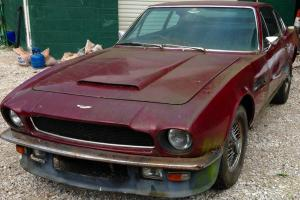 1969 ASTON MARTIN DBS VANTAGE VARY RARE STRAIGHT-SIX BARN FIND  Photo