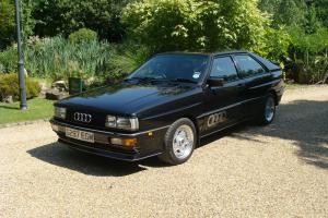 AUDI QUATTRO UR 10v 37000 miles 4 owners 1989 Leather trim Torsen diff