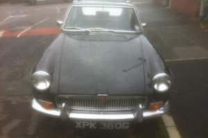 1969 MGB GT Black  Photo