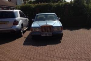 1989 ROLLS ROYCE BLUE Beautiful intact Car  Photo