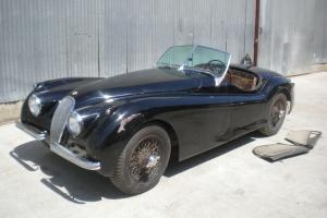 Jaguar XK 120  Photo