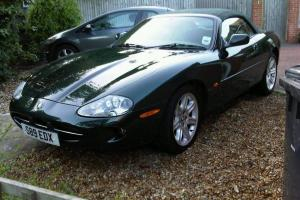 1998 JAGUAR XK8 SPORTS CONVERTIBLE BRITISH RACING GREEN