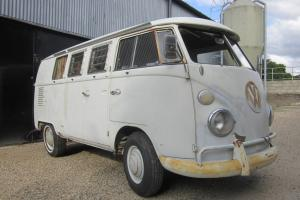 VW Split Screen 1965 SO42 Westfalia Camper LHD Tin Top Project L