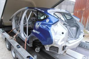 BTCC Ford Focus Works Body shell Chassis 2011/01 Touring Car Race Rally RHD WRC