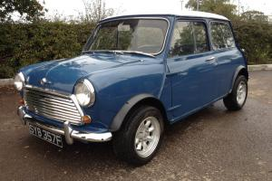 1968 MORRIS MINI COOPER BLUE/WHITE