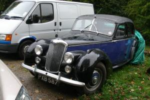 1954 RILEY BLUE / Black