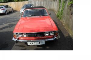 1976 TRIUMPH STAG AUTO RED  Photo