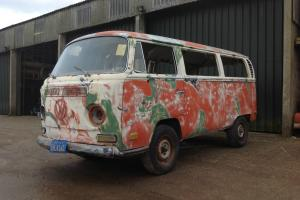 1971 VW Volkswagen Deluxe Bay Window Campervan