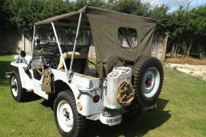 1946 Willys Jeep Ex US Navy Rust Free Original Tub, superb mechanics UK V5 Taxed