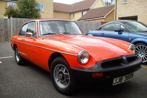 1980 MGB GT 1.8 Dry Stored for 15 years