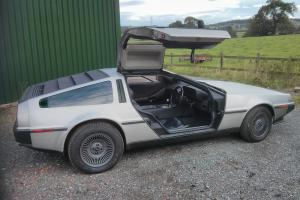 Delorean DMC-12 // RIGHT HAND DRIVE // VERY RARE CAR // VIN570