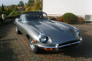 1970 Jaguar E-Type Series 2 convertible
