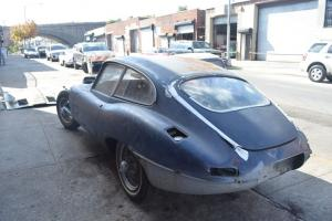 Jaguar e type 1963 coupe, 4.2L engine, solid project, bargain deal Photo
