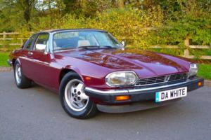 1985/C JAGUAR XJS 3.6 MANUAL CABRIOLET with RARE HARD-TOP
