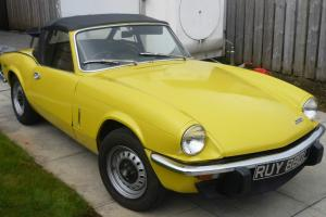 Triumph Spitfire Mk IV  Photo