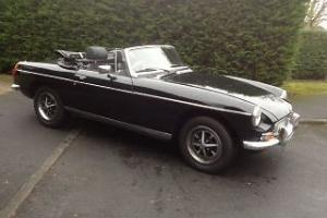 1975 MGB Roadster in Stunning Black