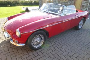 1963 MGB Roadster  Photo